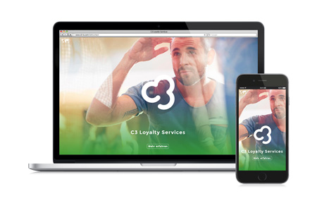 C3 Loyalty Services: Corporate Design und Website