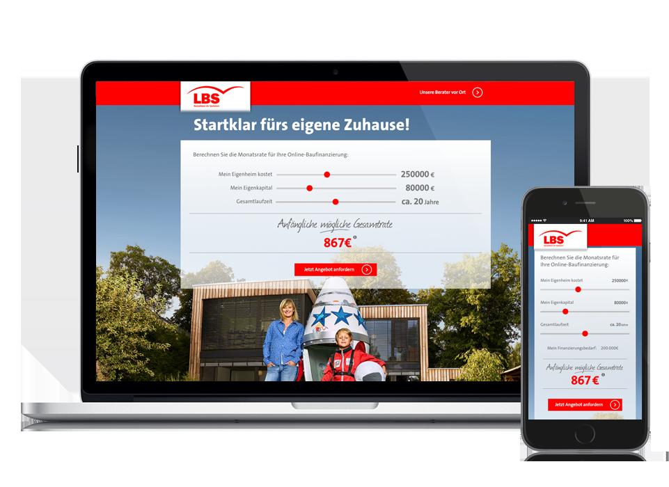 Lbs Südwest Online Kampagne Baufinanzierung Enorm Digital