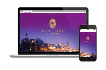 Louis Jumpelt Dresden: Brand Design, Website und Package Design Vorschaubild