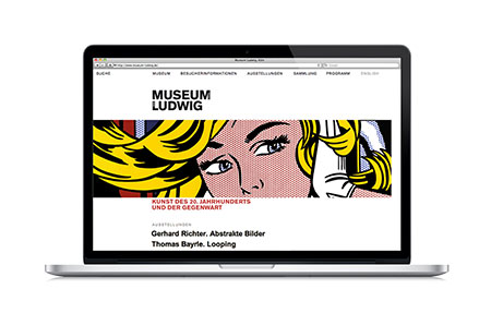 Museum Ludwig: Website